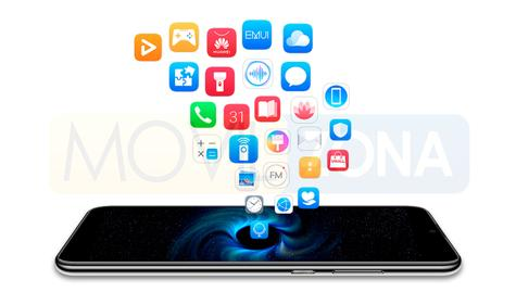 Huawei Enjoy 9s aplicaciones