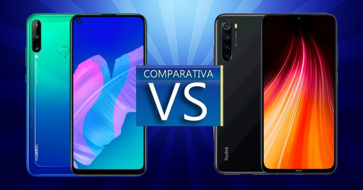 Huawei P40 Lite E vs Xiaomi Redmi Note 8