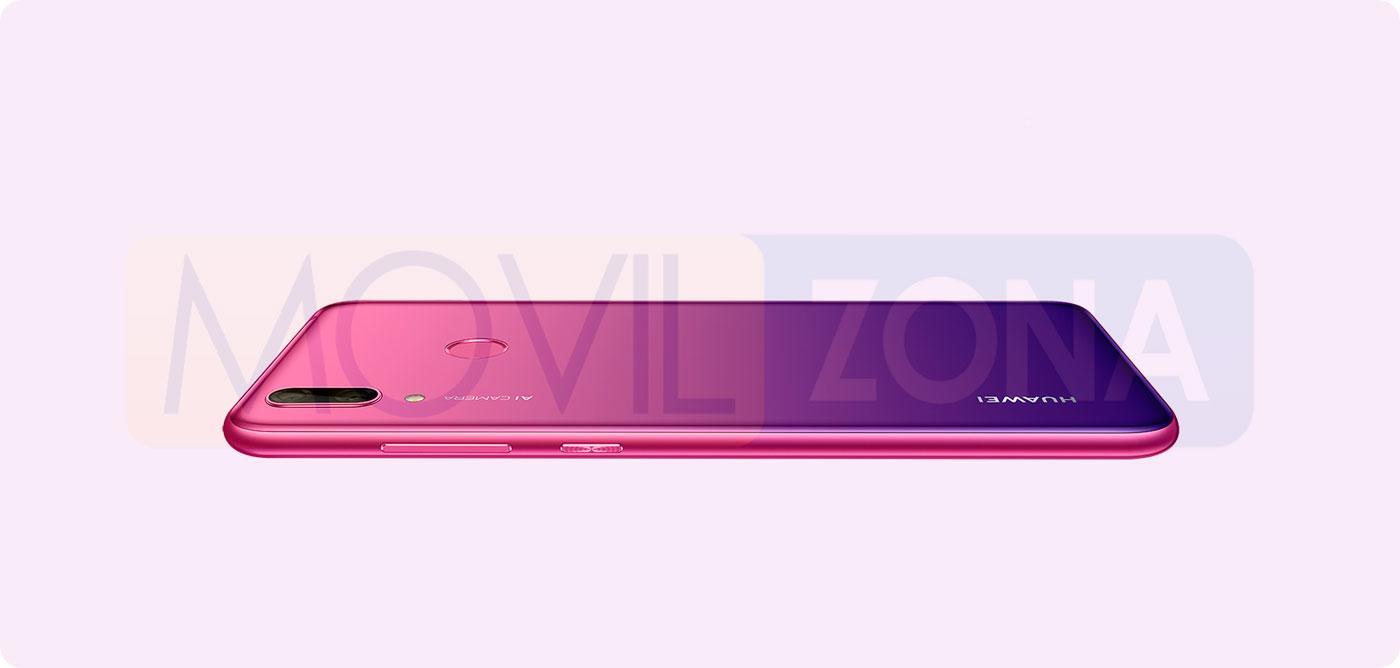 Huawei Y7 2019 rosa