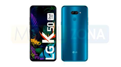 LG K50 diseño