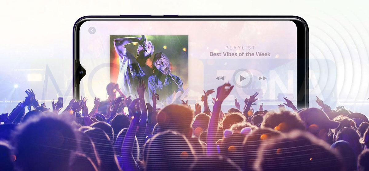 LG W30 Pro sonido