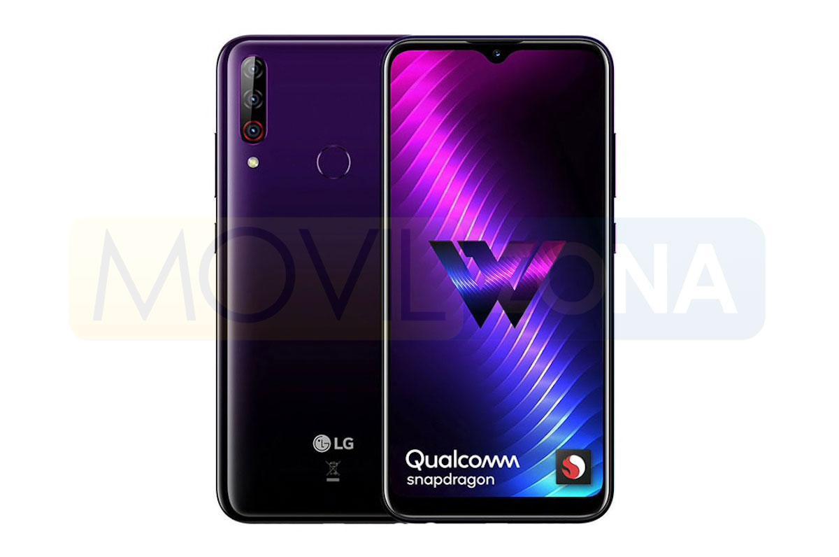 LG W30 Pro diseño