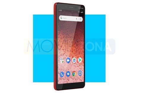 Nokia 1 Plus rojo