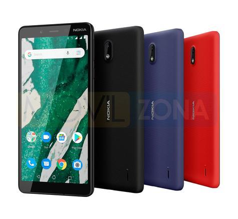 Nokia 1 Plus colores