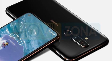 Nokia X71 cámaras
