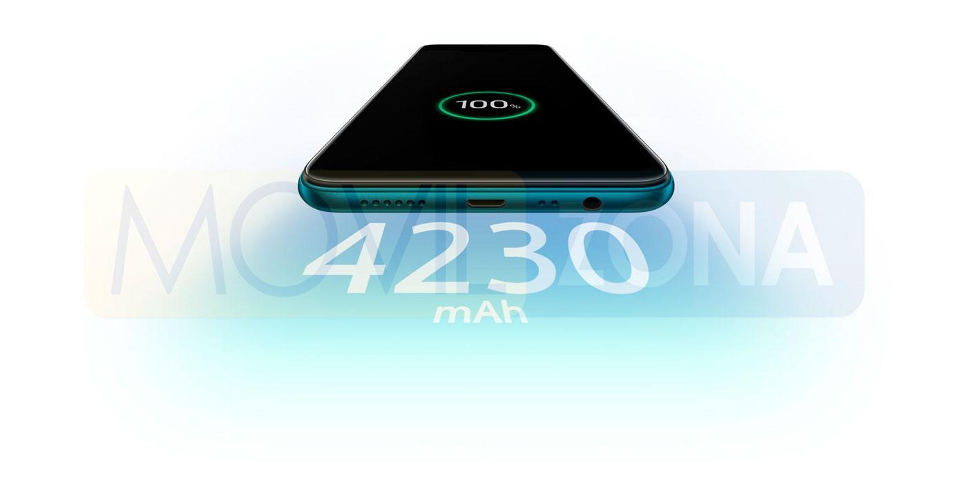 OPPO AX7 batería