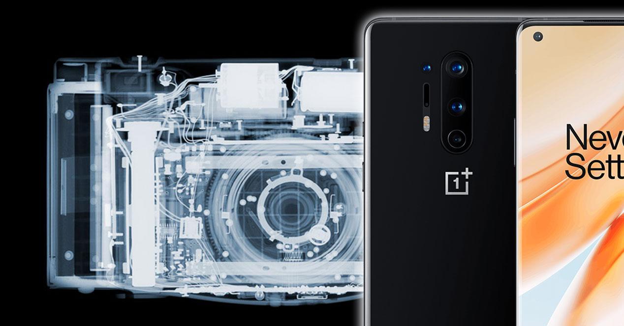 OnePlus 8 Pro rayos X
