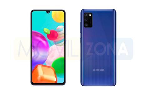 Samsung Galaxy A41 diseño