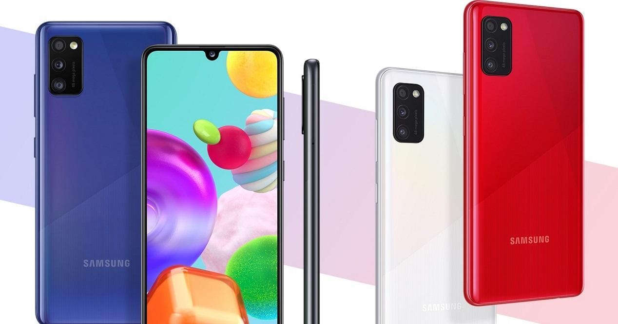 Samsung Galaxy A41 colores
