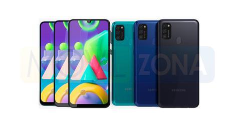Samsung Galaxy M21 colores