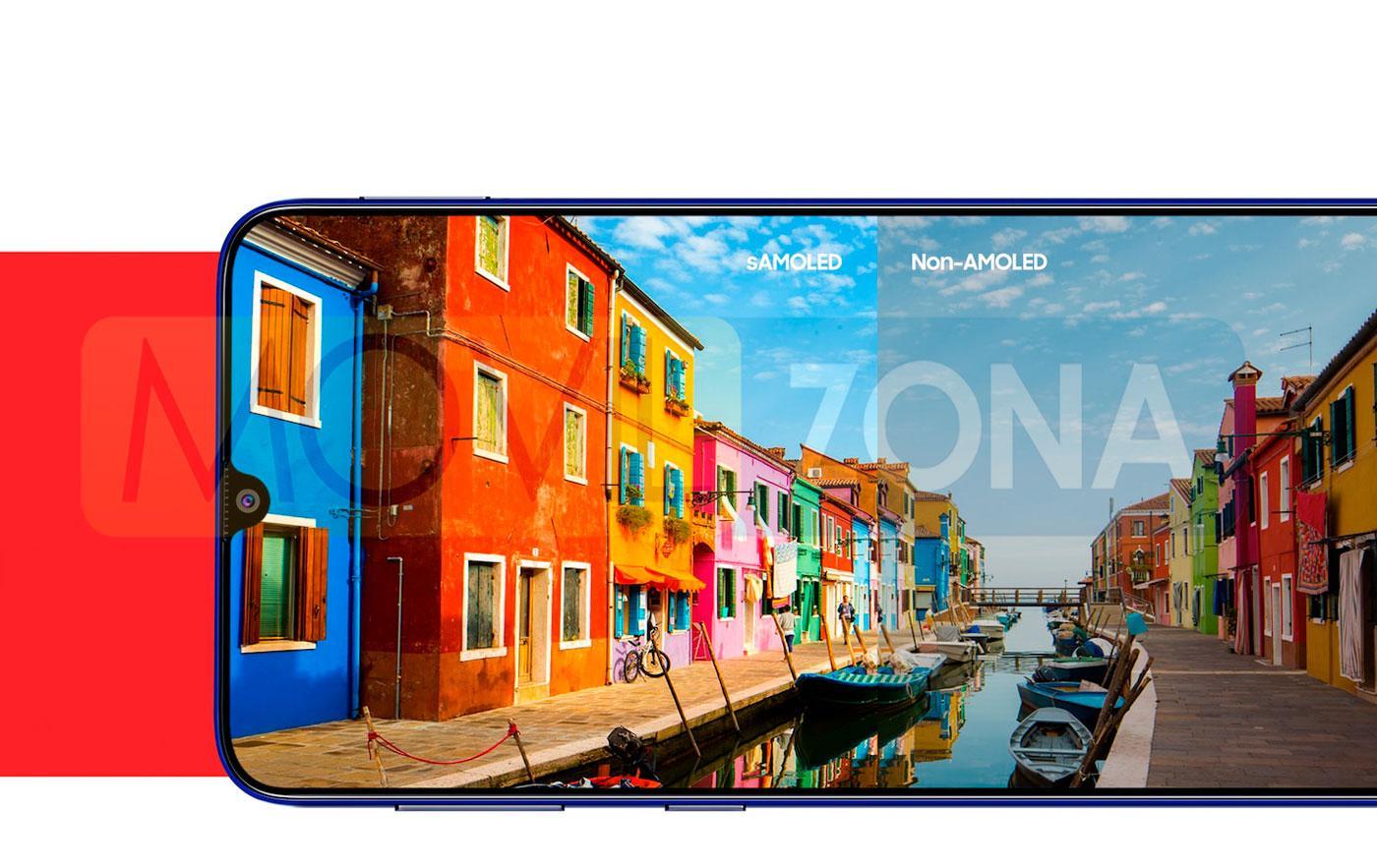 Samsung Galaxy M21 pantalla