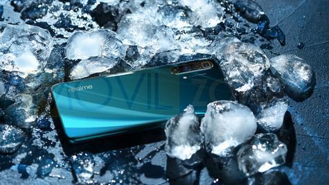 Realme X3 SuperZoom hielo
