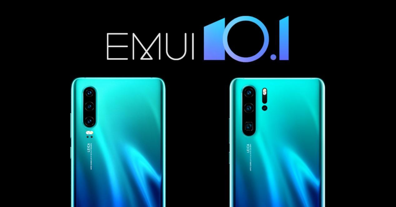emui 10.1 para Huawei p30 y p30 pro