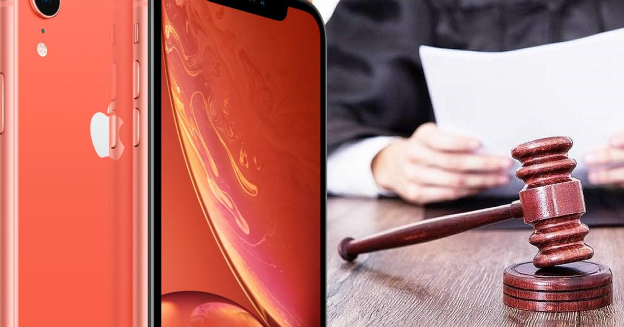 iPhone XR juicio