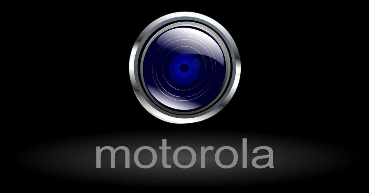 lente con logo de motorola