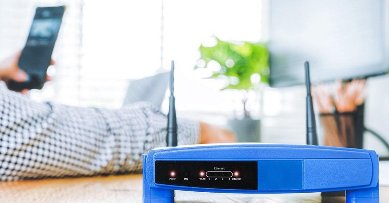 movil conecta un routeur