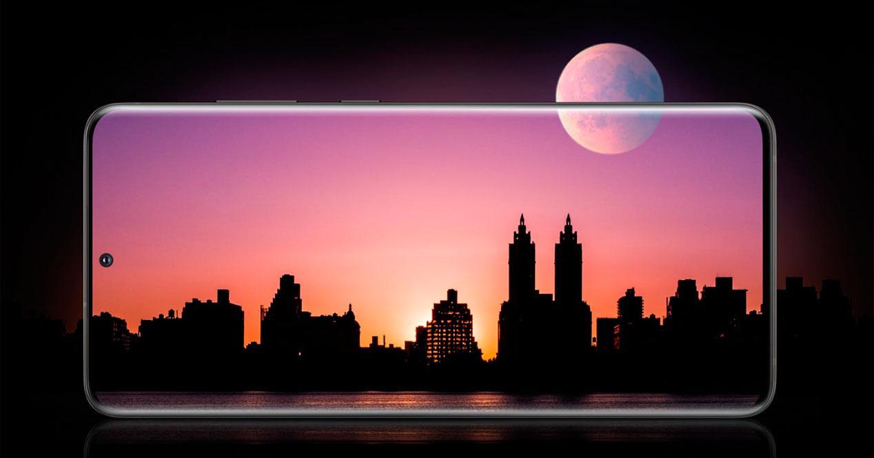 pantalla móvil 120Hz