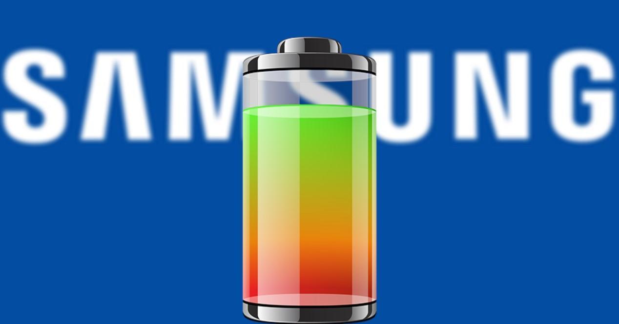 samsung logo y batería