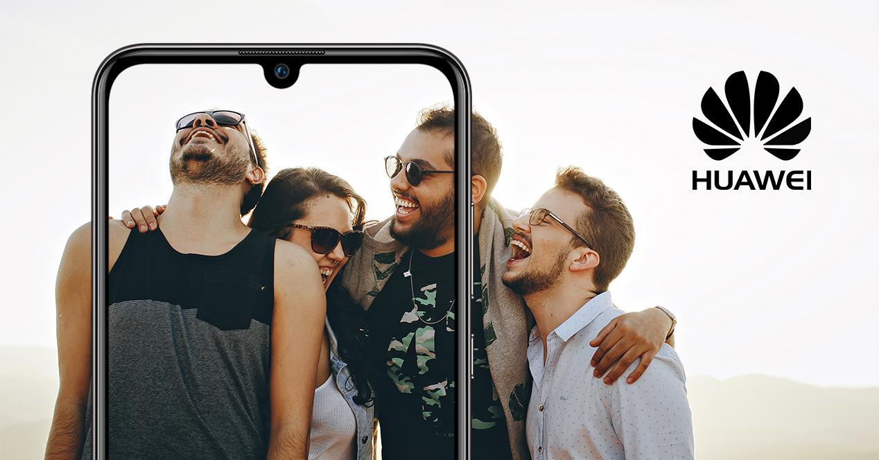selfies grupo huawei