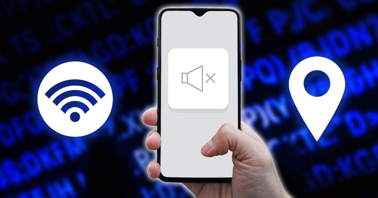 silenciar movil sonido android wifi localización