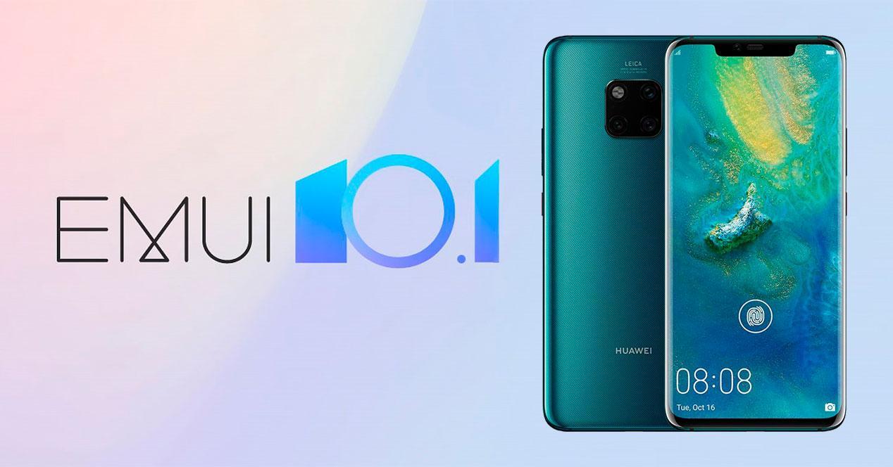 EMUI 10.1 Huawei Mate 20 Pro