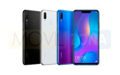 Huawei Nova 3i colores