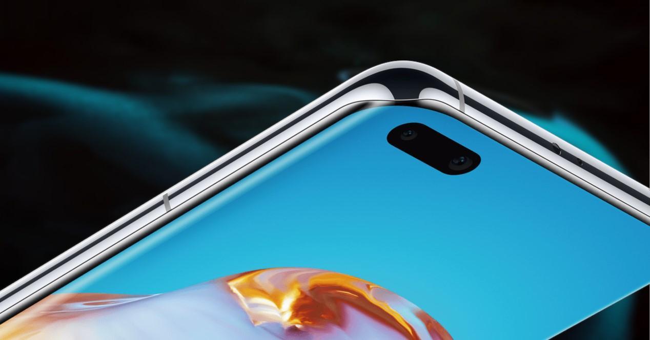 Huawei P40 Pro detalle camaras selfie
