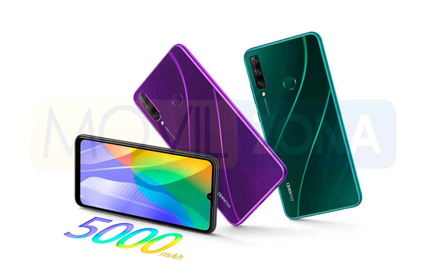 Huawei Y6p colores