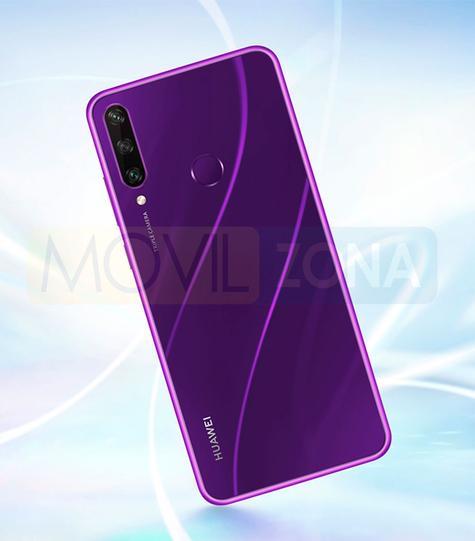 Huawei Y6p morado