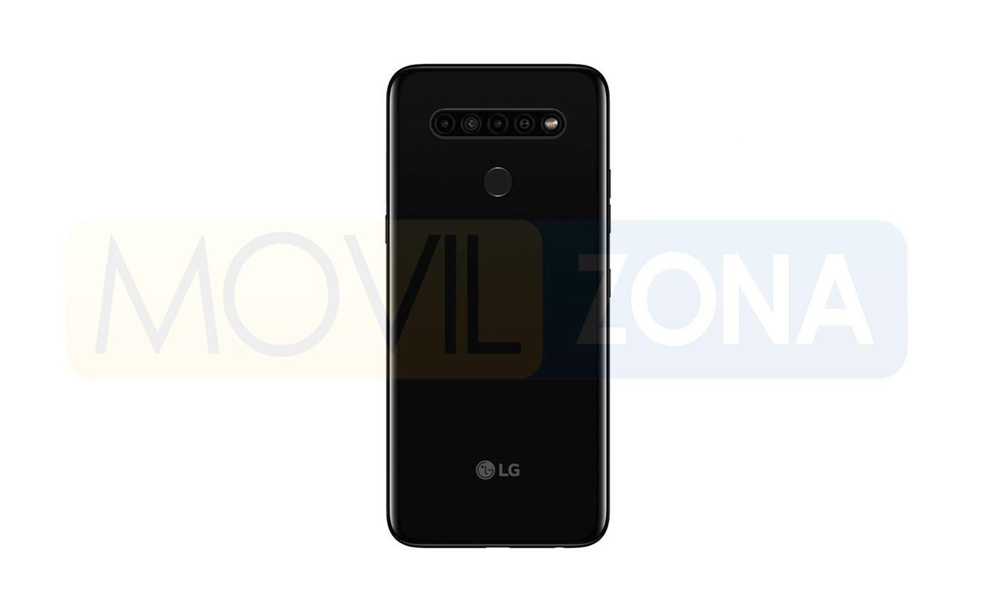 LG K41S trasera