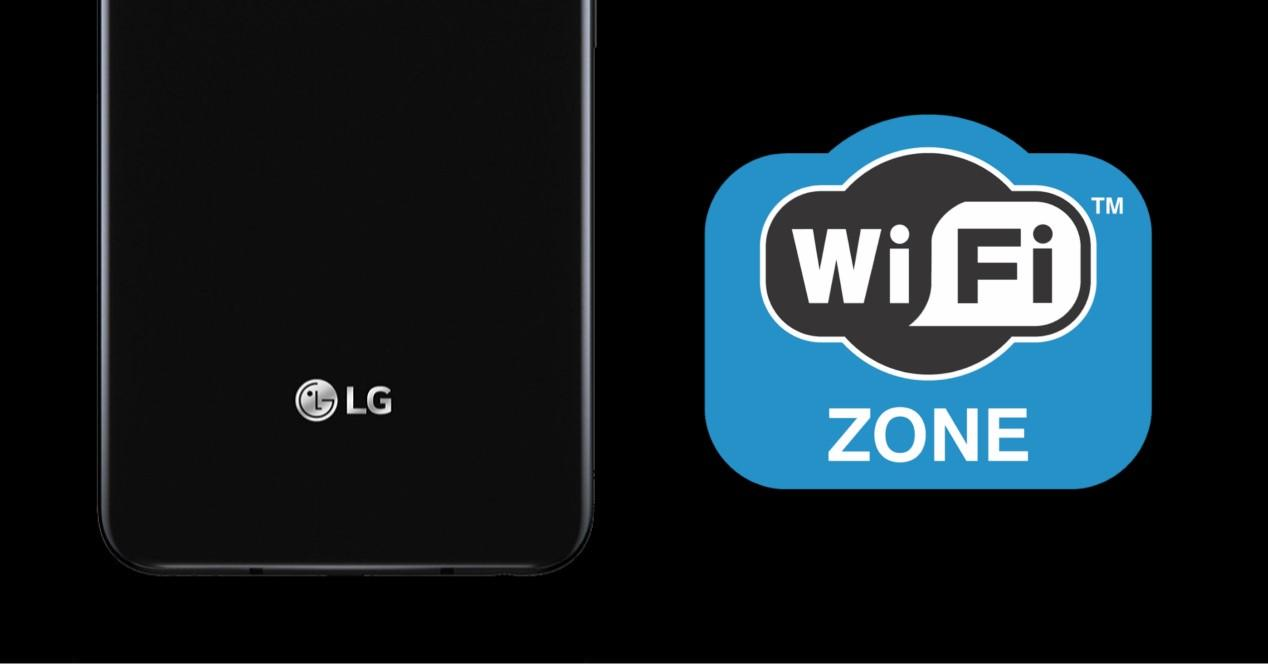 Lg y zona Wi-Fi