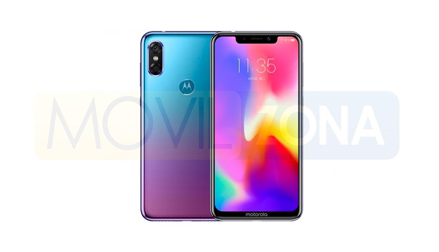 Motorola Moto P30 diseño
