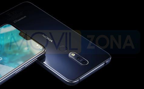 Nokia 7.1 diseño