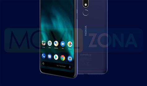Nokia 3.1 Plus azul