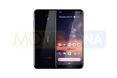 Nokia 3.2 diseño