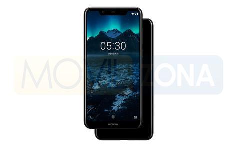 Nokia X5 negro