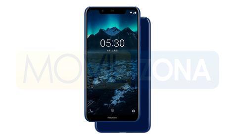 Nokia X5 azul