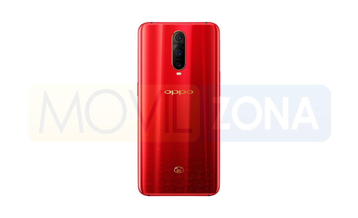 Oppo R17 Pro rojo