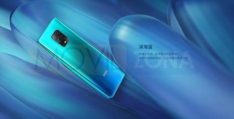 Redmi 10X 5G azul