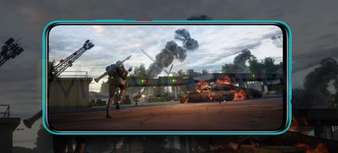 Redmi 10X 5G pantalla