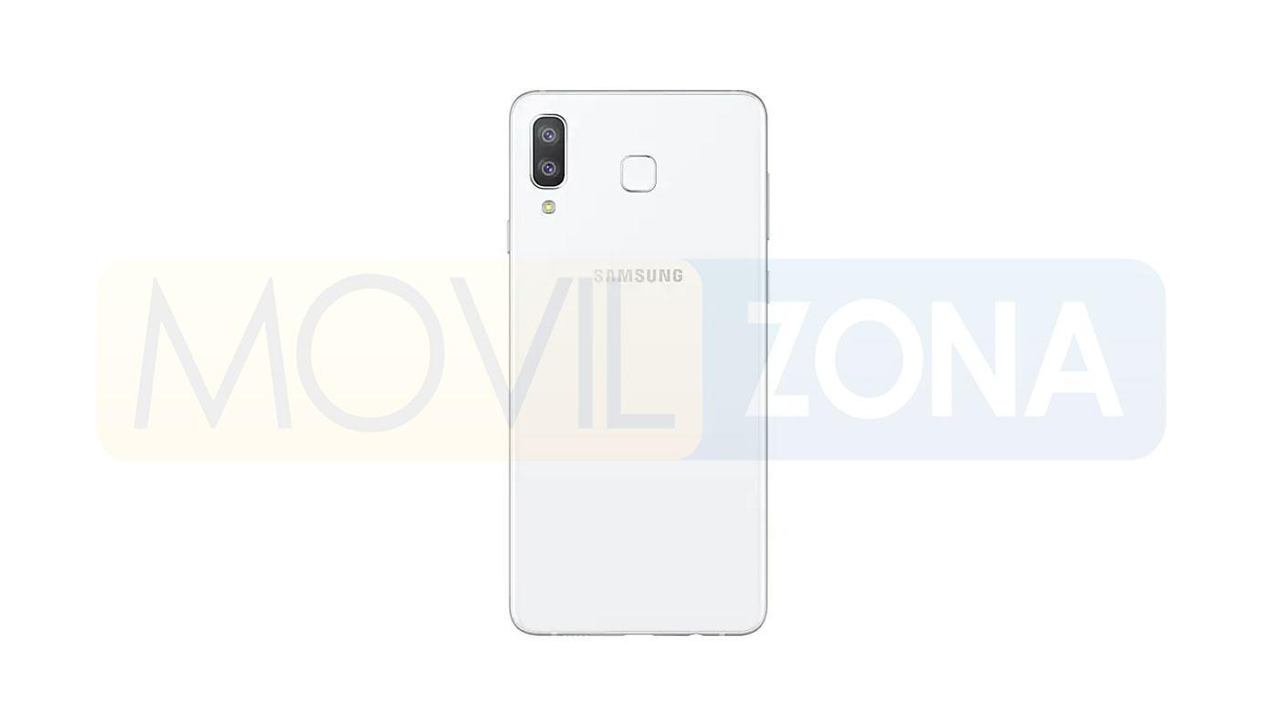 Samsung Galaxy A8 Star blanco