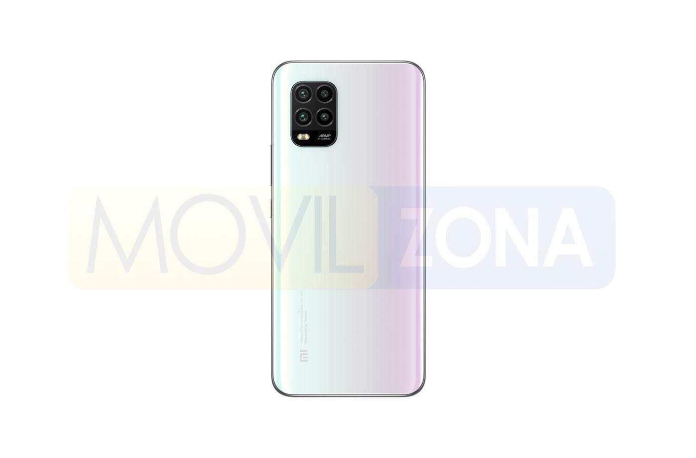 Xiaomi Mi 10 Lite 5G trasera