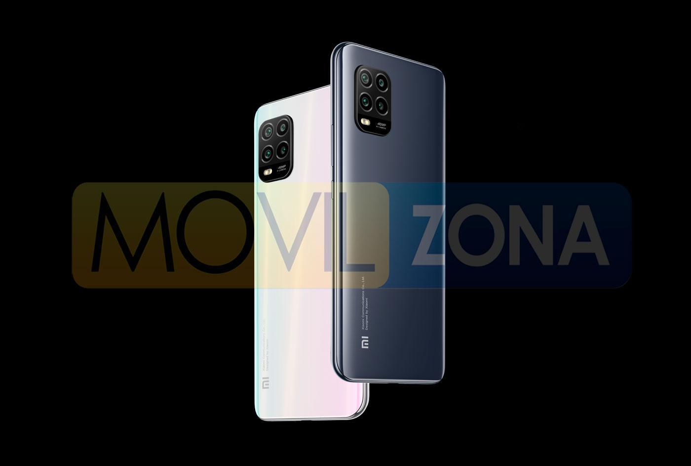 Xiaomi Mi 10 Lite 5G diseño