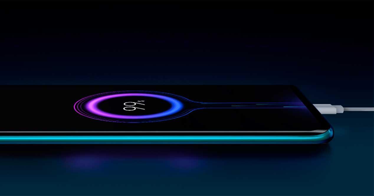 carga rápida Xiaomi