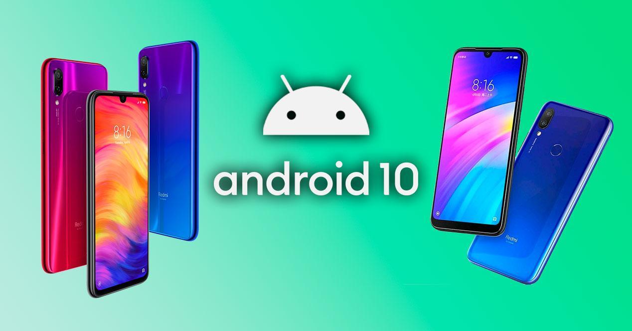 android 10 redmi note 7 redmi 7