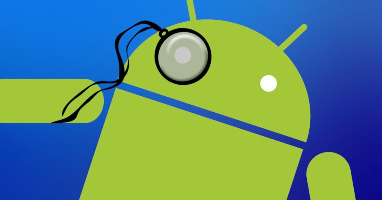 android con monoculo