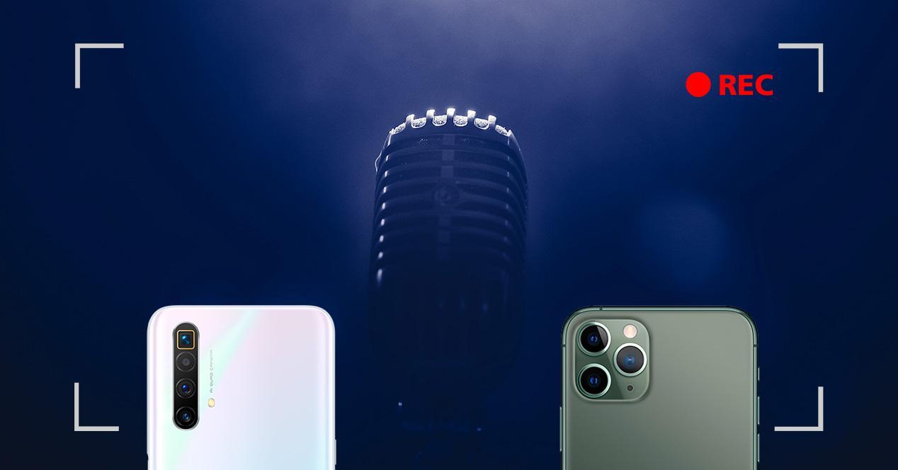 camaras microfono movil