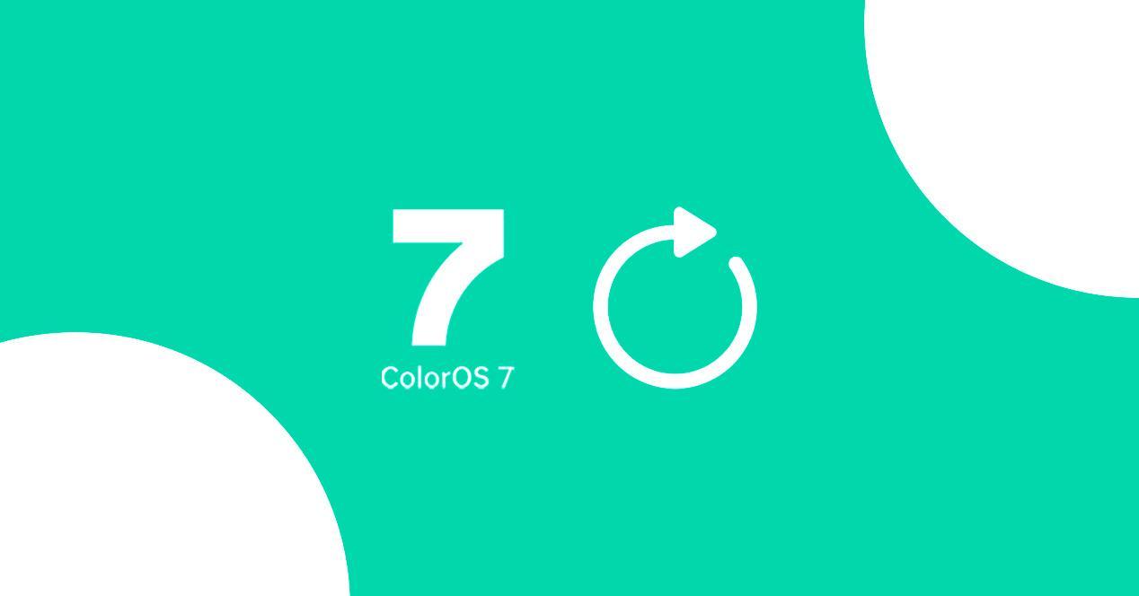 colorOS 7 actualizacion