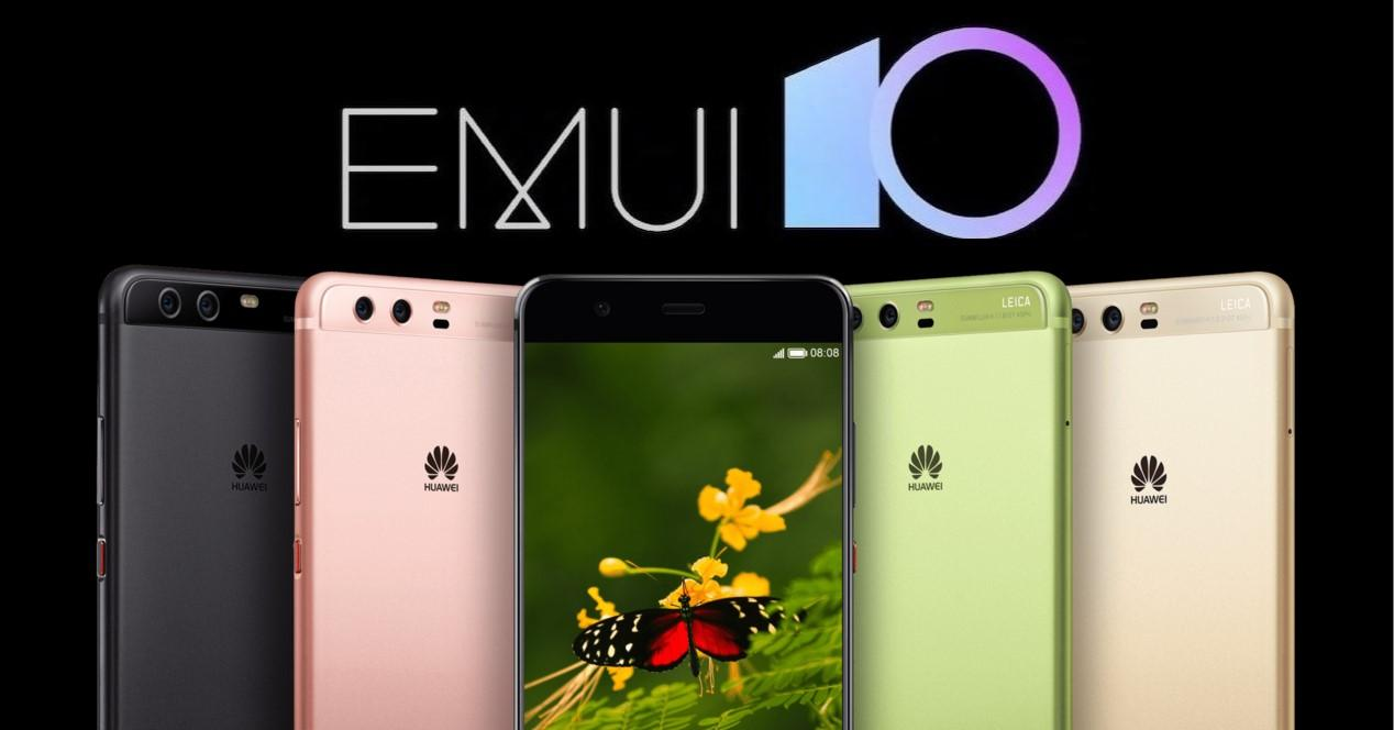 emui 10 para el Huawei P10