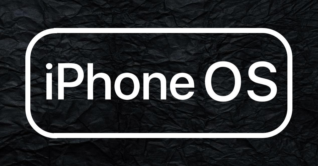 logo iPhone OS